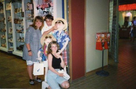Mom - Beach Trip 1989