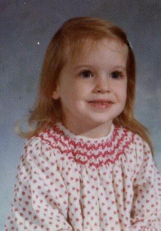 Mom - my preschool pic