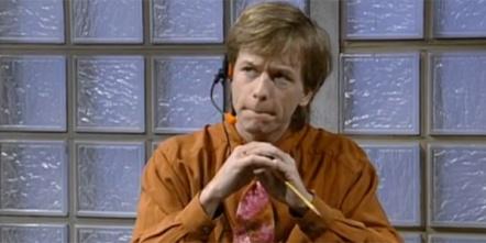 David Spade, snarky receptionist - SNL
