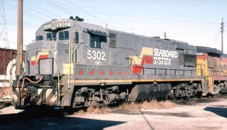 Seaboard System Train 1