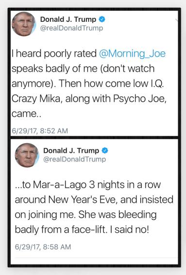 The tweets