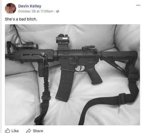 devin kelley's facebook post