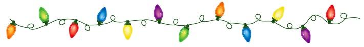 Christmas lights border clipart2