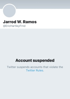 JR 2018 - 6-29-18 acct suspended