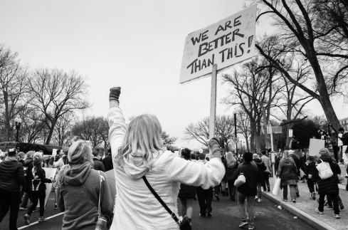 Women's March on Washington -- jerry-kiesewetter-195442-unsplash